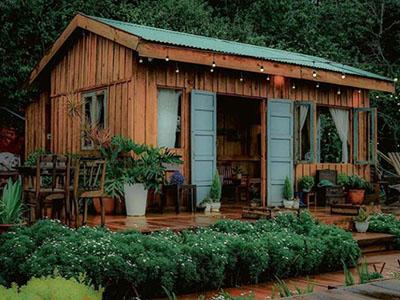 cabin-in-wood